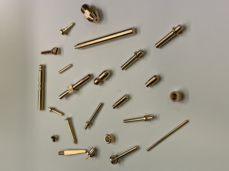 Brass Connector Pins, Custom Made Brass Connectors